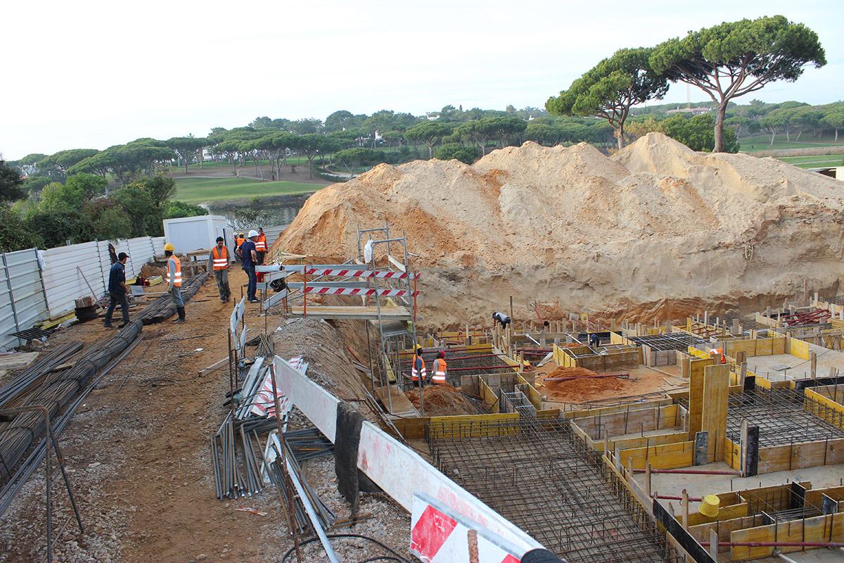 Villa Construction In Quinta do Lago