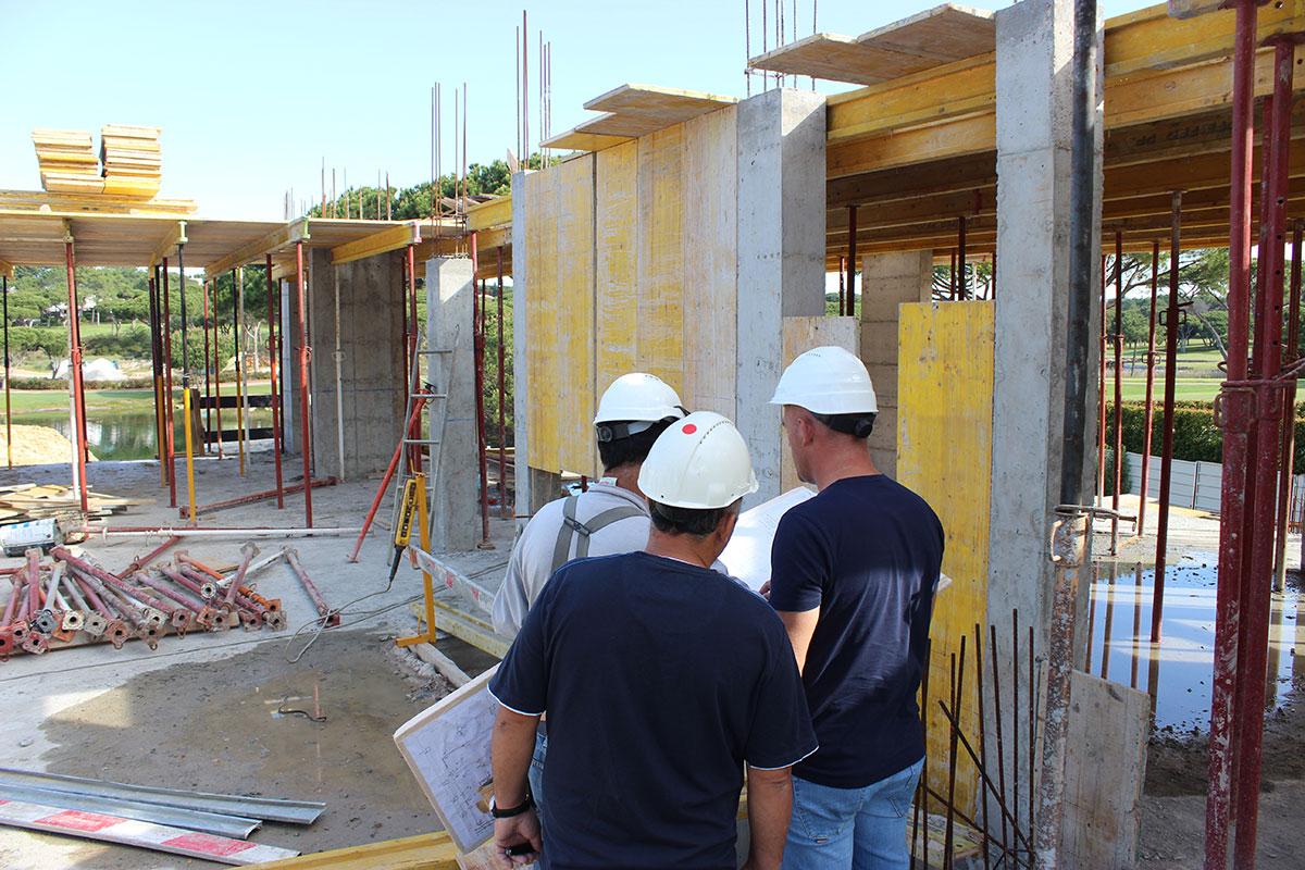 New Villa Construction In Quinta do Lago