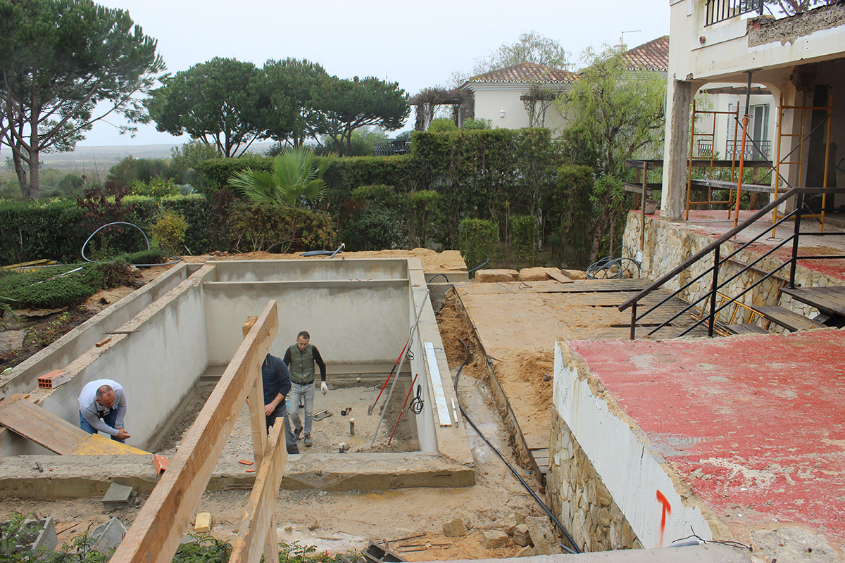 Villa Refurbishment in Quinta das Salinas