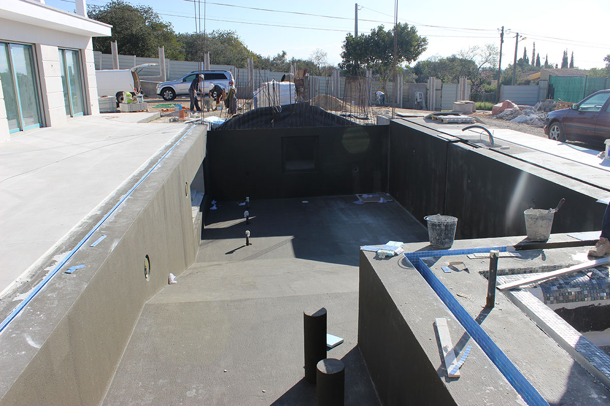 New Build - Swimming Pool Construction in Almancil, Algarve