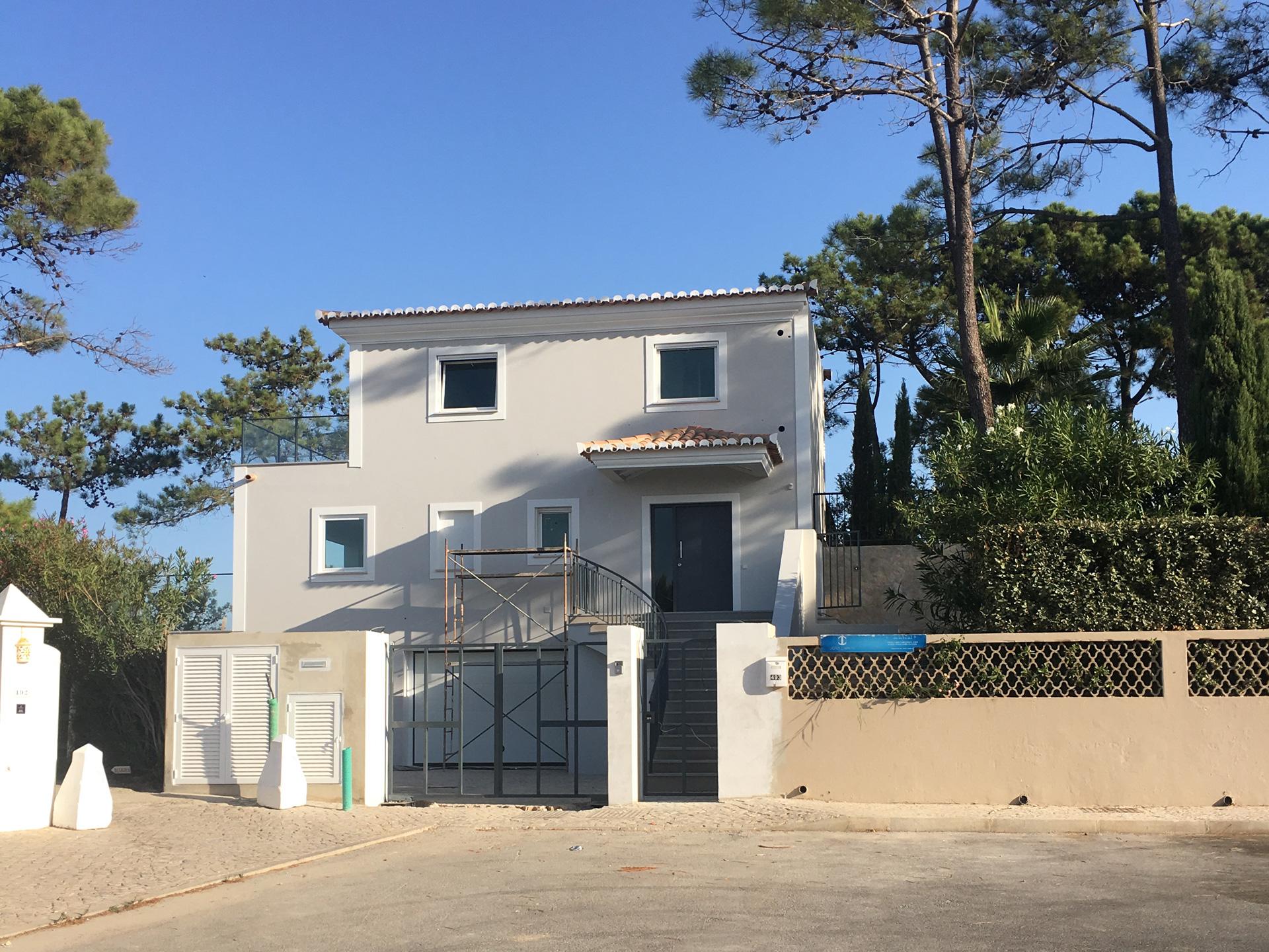 New Villa Construction in Vale do Lobo, Algarve Portugal