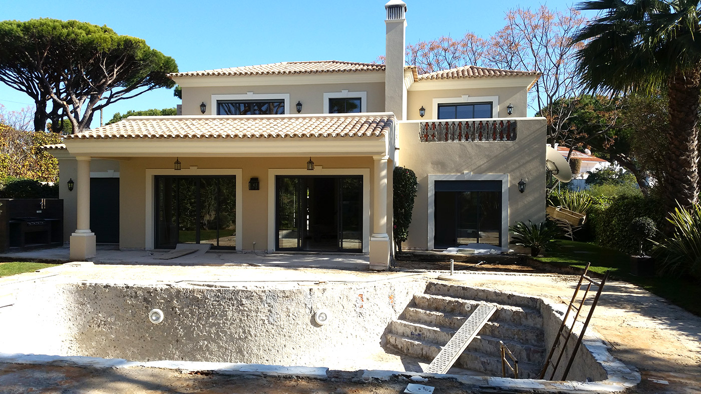 Villa Refurbishment in Vale do Lobo, Algarve