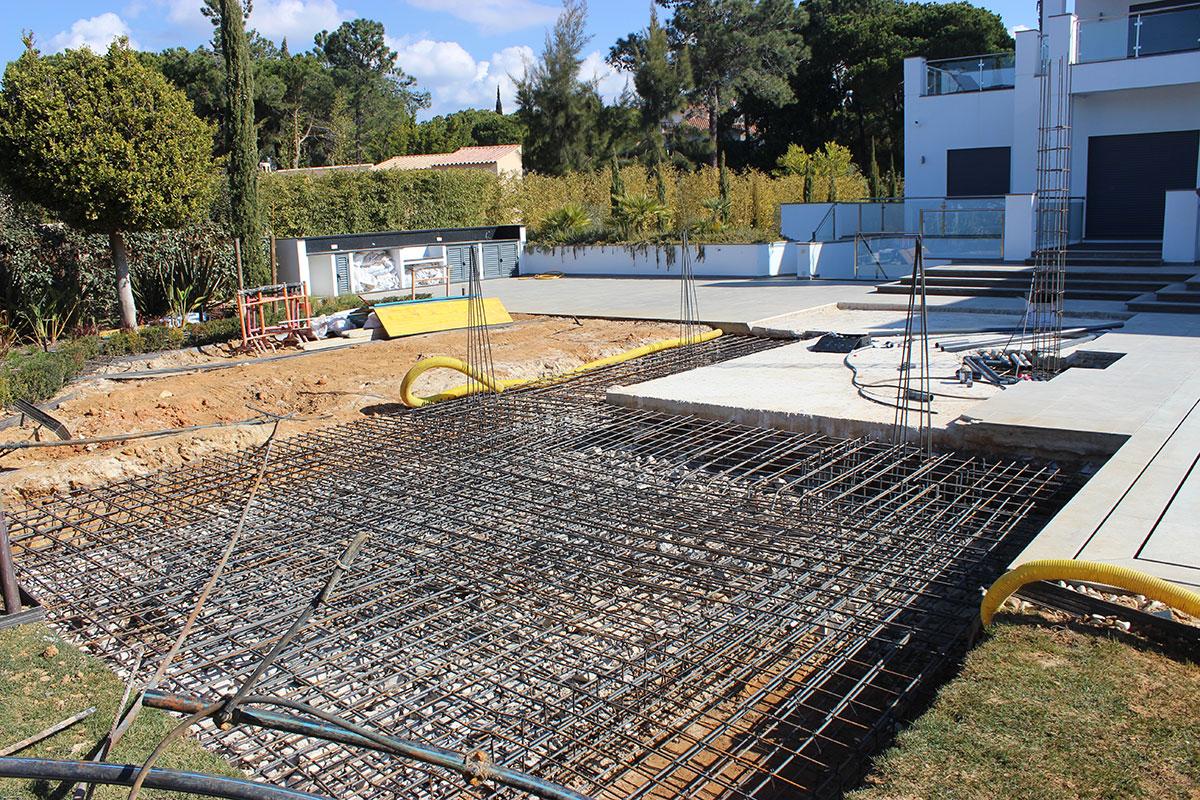 New BBQ build for Villa located in Quinta do Lago, Algarve