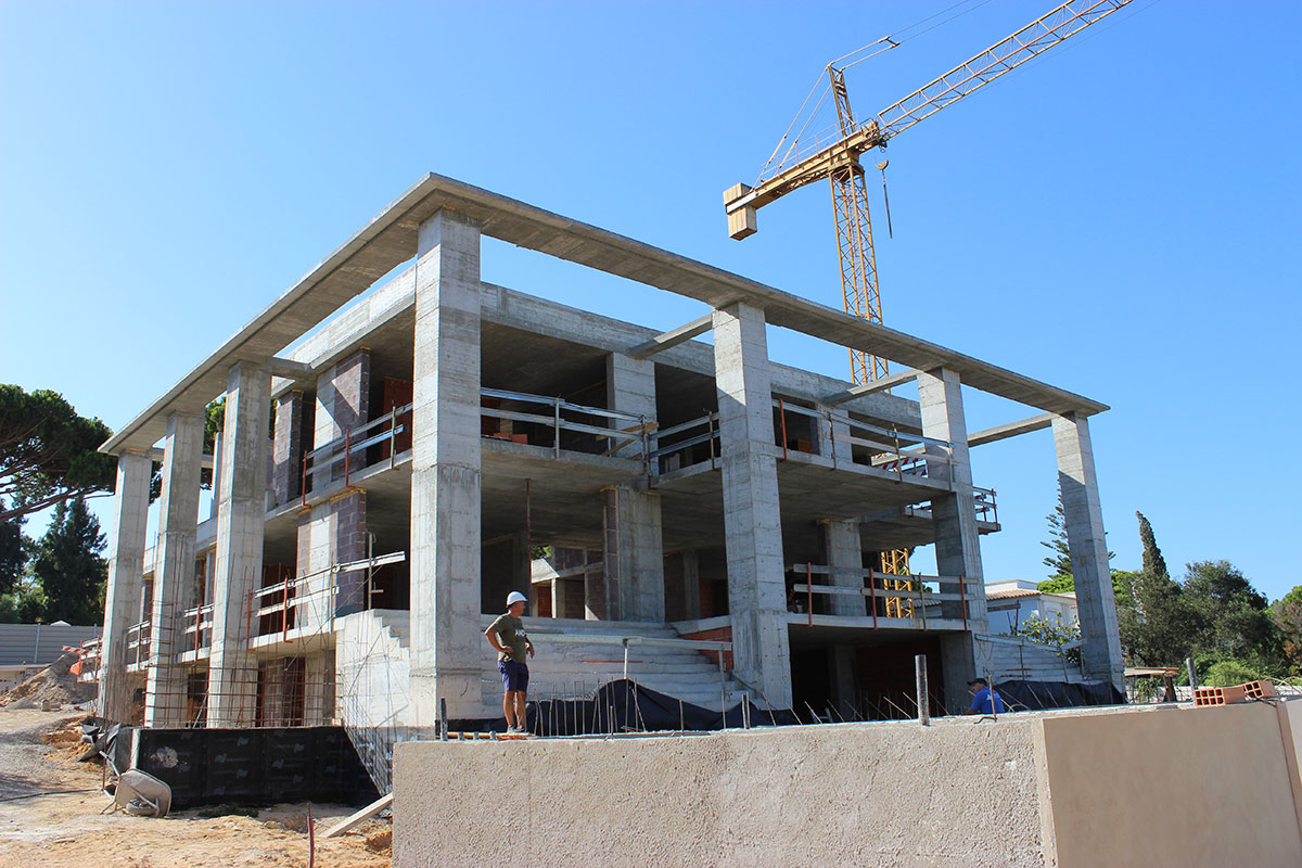 New Villa Construction in Quinta do Lago