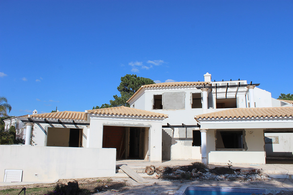 Villa Refurbishment Project in Quinta do Lago